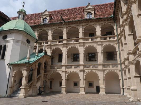 Die Grazer Innenhöfe