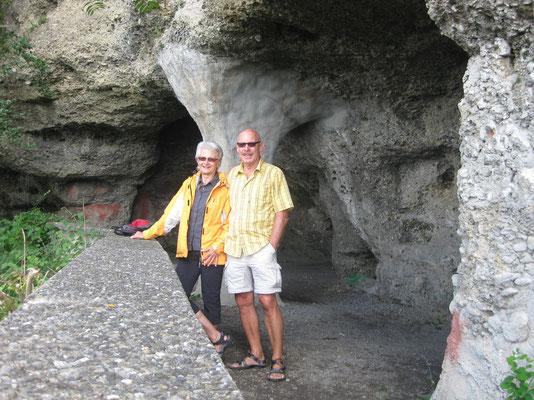 Besuch der Freundschaftshöhle in Heiligenberg am Bodensee