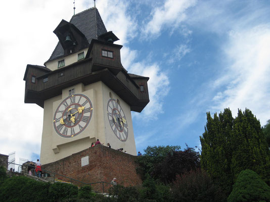 Grazer-Uhrturm - das Wahrzeichen der Stadt