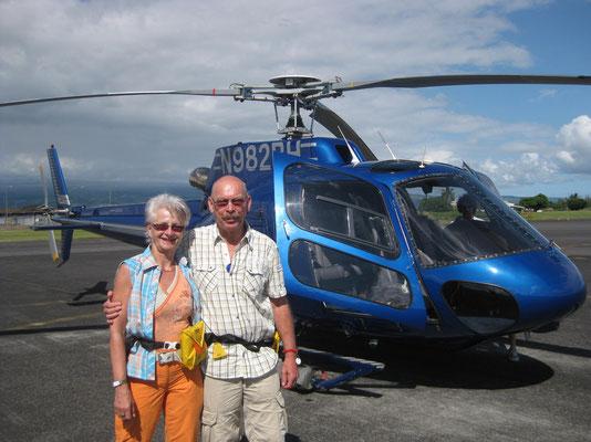 Auf zum Heli-Abenteuer in Hilo auf Big Island