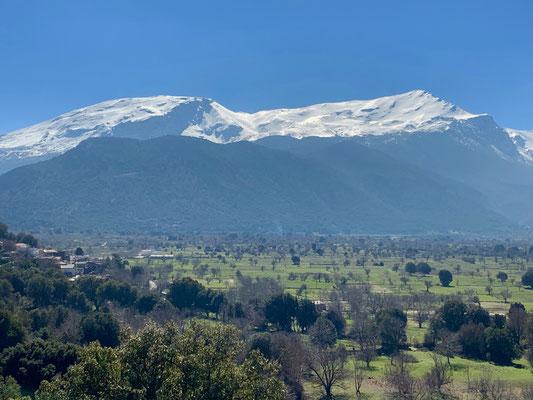 Schneeberge auch auf Kreta