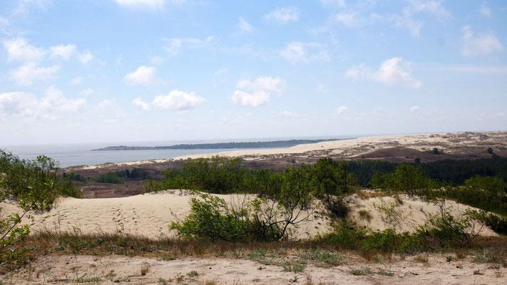 über Jahrhunderte natürlich geschaffen und in eine Sanddünen- und  Waldlandschaft  verwandelt