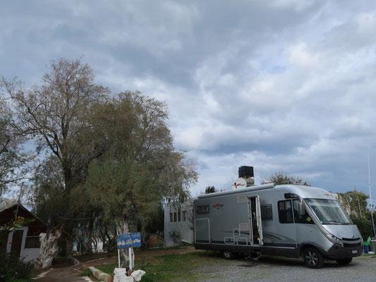 Unser Quartier im Sisi-Camping