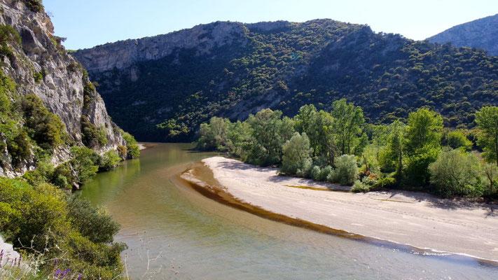 Kleine Wanderung durch die Nestos-Schlucht in Nordgriechenland (Makedonien)