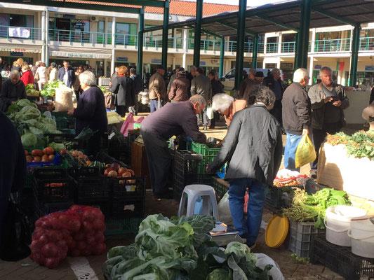 Auf dem Markt in Mirandela ....