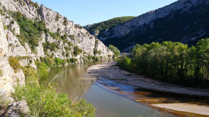 Der Nestos zählt zu den 5 grössten Flüssen Griechenlands und mündet in die Ägäis
