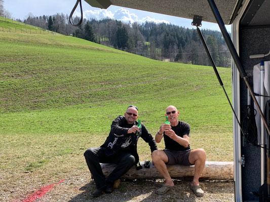 Überraschungsbesuch in Gähwil