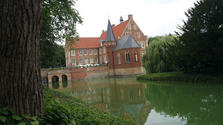 Die Wasserburg Hülshoff bei Havixbeck, im Herzen des Münsterlandes