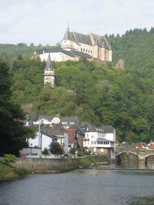Die Burg Vianden ist die Älteste von Europa