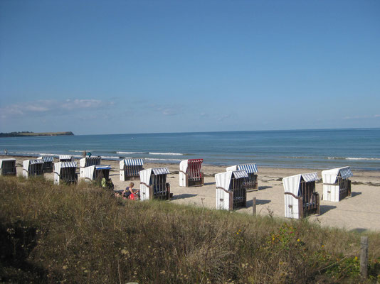 Am Strand des Ostseebades Boltenhagen