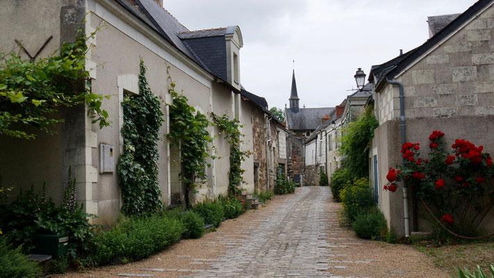 Im Gässchen auf der Loire-Insel Béhuard