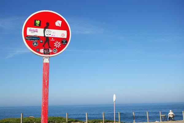 Kreative Portugiesen auf der Halbinsel Baleal