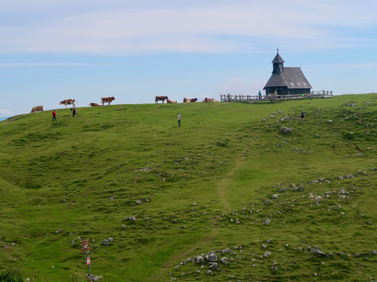 Die Anblicke erinnern an die heimatlichen Berg- und Alpenwelten