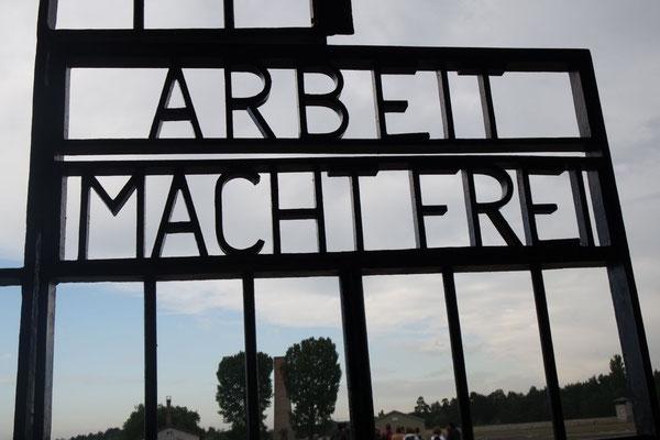Unser einziges, vielsagendes Bild von Sachsenhausen!