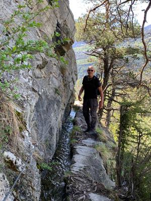 Auf Suonen-Wanderung im Wallis