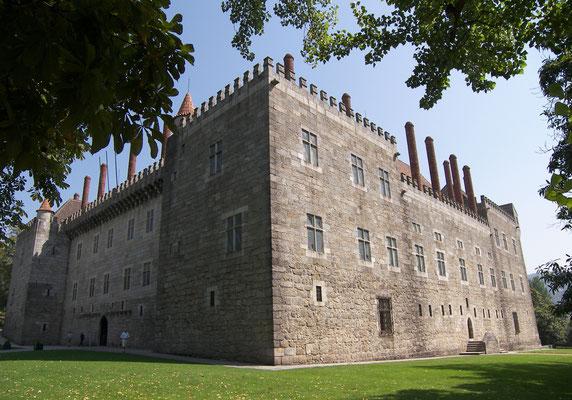Der Paço Ducal - Palast des Herzogs von Bragança