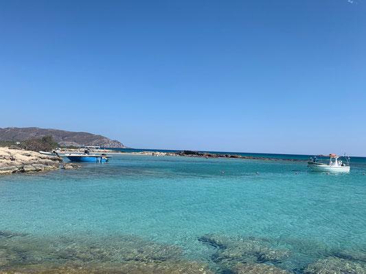 Auf der Elafonisos Lagune