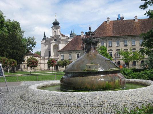 Der einstige Klostergarten