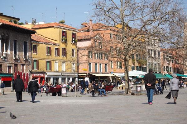 An der Piazza Margherita