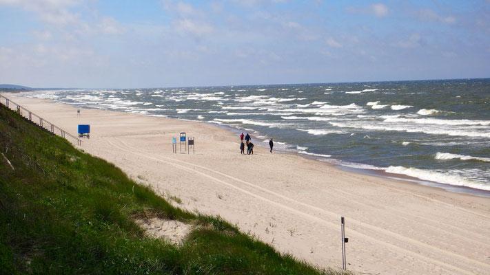 Von Wind und Wellen wurde der Landstreifen ...