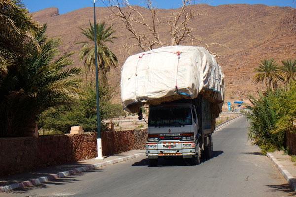 Eine durchaus typisch marokkanische Ladung