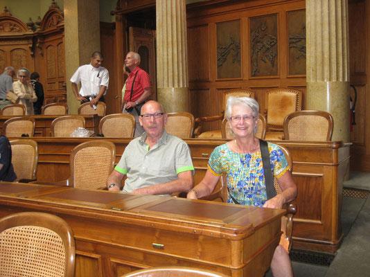Unser Sitz im Nationalratssaal