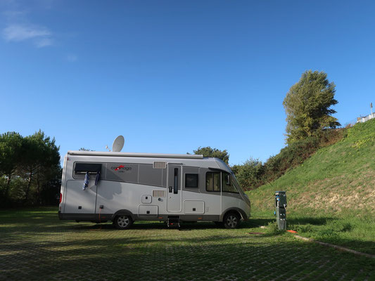 Übernachtungsplatz in Montefalco