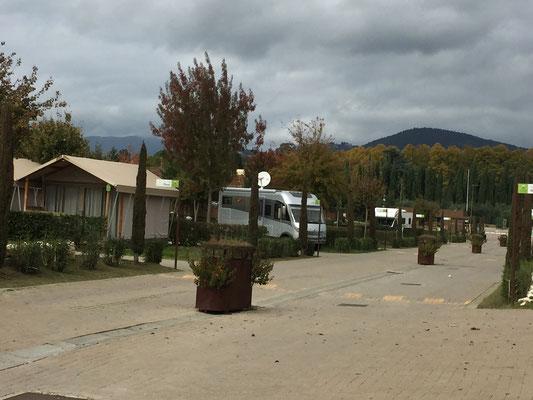 Unsere vorläufige Bleibe in Rovezzano (Firenze)