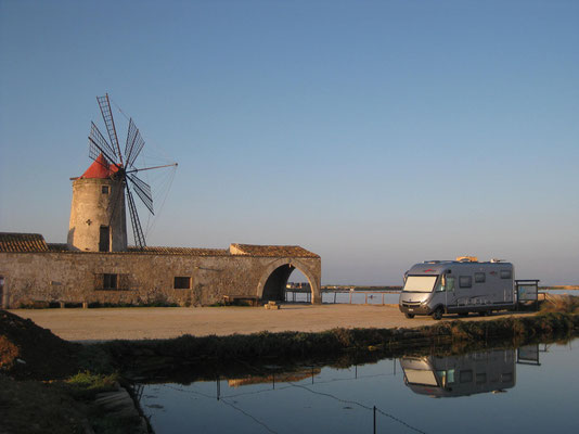 Kein Aprilscherz! zauberhafte Morgenstimmung in Nubia