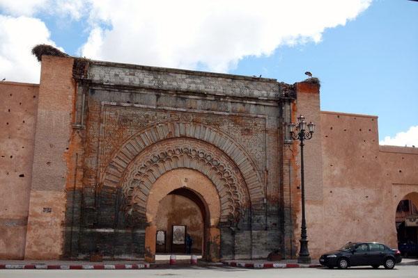 Das Stadttor Bab Agnaou ist das älteste der 19 Stadttore und das heutige Sujet für die angereisten Künstler aus Deutschland und der Schweiz