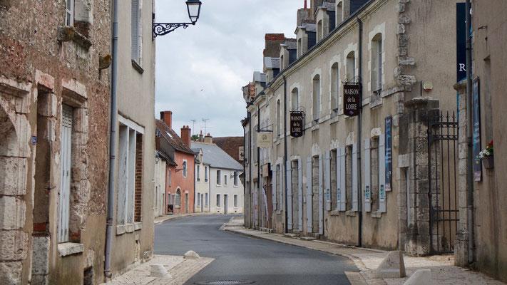 Typisch Frankreich - ein Ort im Loire-Tal