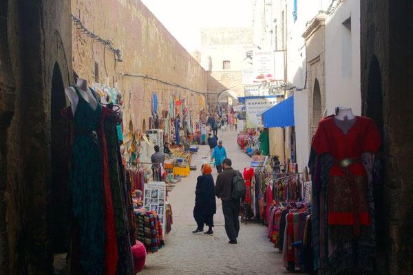 Die schmucken Gassen der Medina