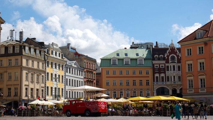 Lettlands Hauptstadt Riga gefällt