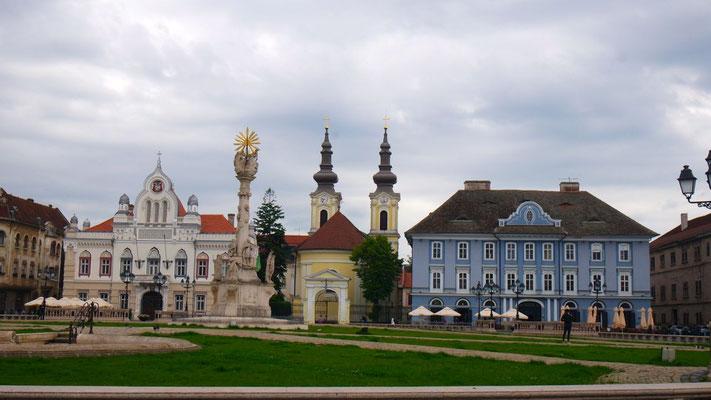 Auf Stadtrundgang in Timisoara,