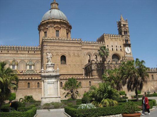 Die einzigartige Kathedrale in Palermo