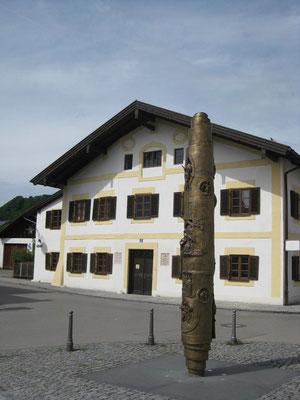Das Geburtshaus von Papst Benedikt in Marktl
