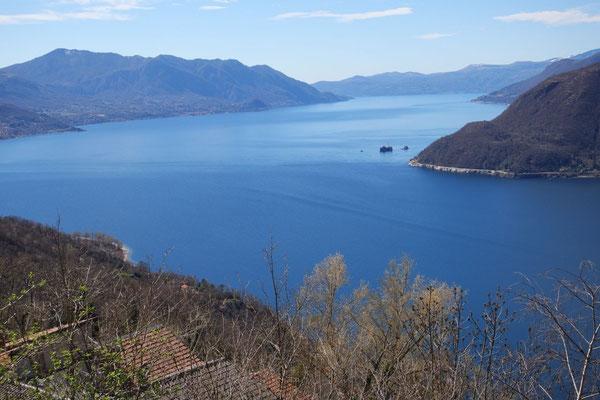 Lago Maggiore, ist das eine Aussicht!