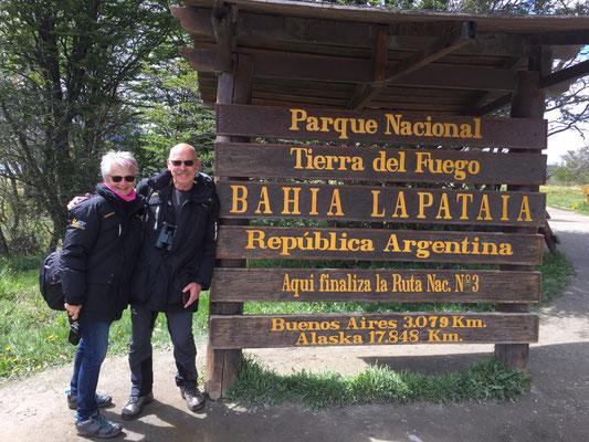 oder auch das Ende der Panamericana-Ruta 3!