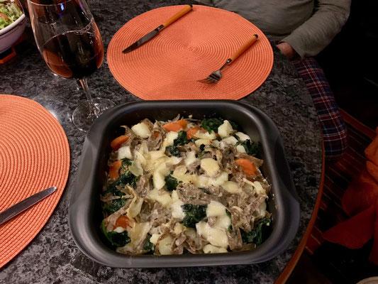 Pizoccheri schmecken auch in Griechenland und ab sofort werden der eigenen Küche eh KEINE Ruhetage mehr zugestanden!!