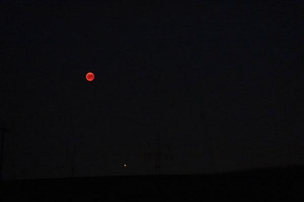 Mondfinsternis in Dinkelsbühl