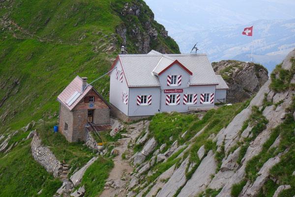 Berggasthaus Tierwis von oben