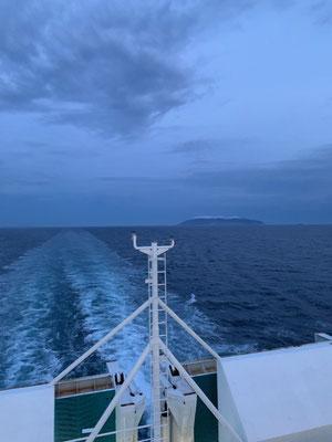 entspannte 2 Nächte auf See