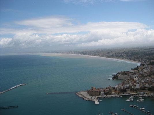 Der Küste entlang nach Isola delle Femmine