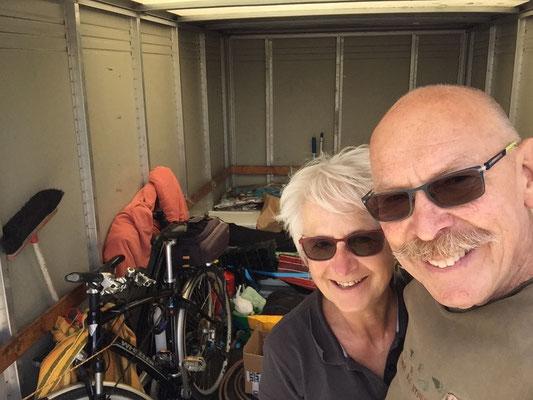 Zügel-Duo RiBa - alles bereit für den Rücktransport