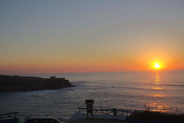 Sonnenuntergang in Lourenço
