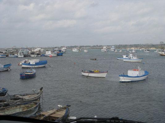 Der Fischerhafen Portopalo di Capo Passero