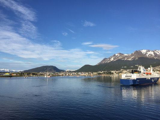 Zurück in den sicheren Hafen Ushuaia