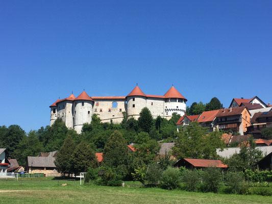 Schloss Zuzemberk in der Unterkrain