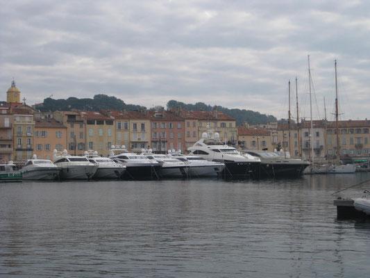 Am alten Hafen von St. Tropez