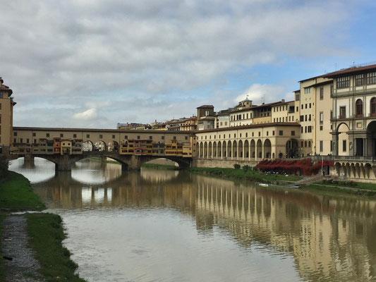 Ponte Vecchio auch schon da